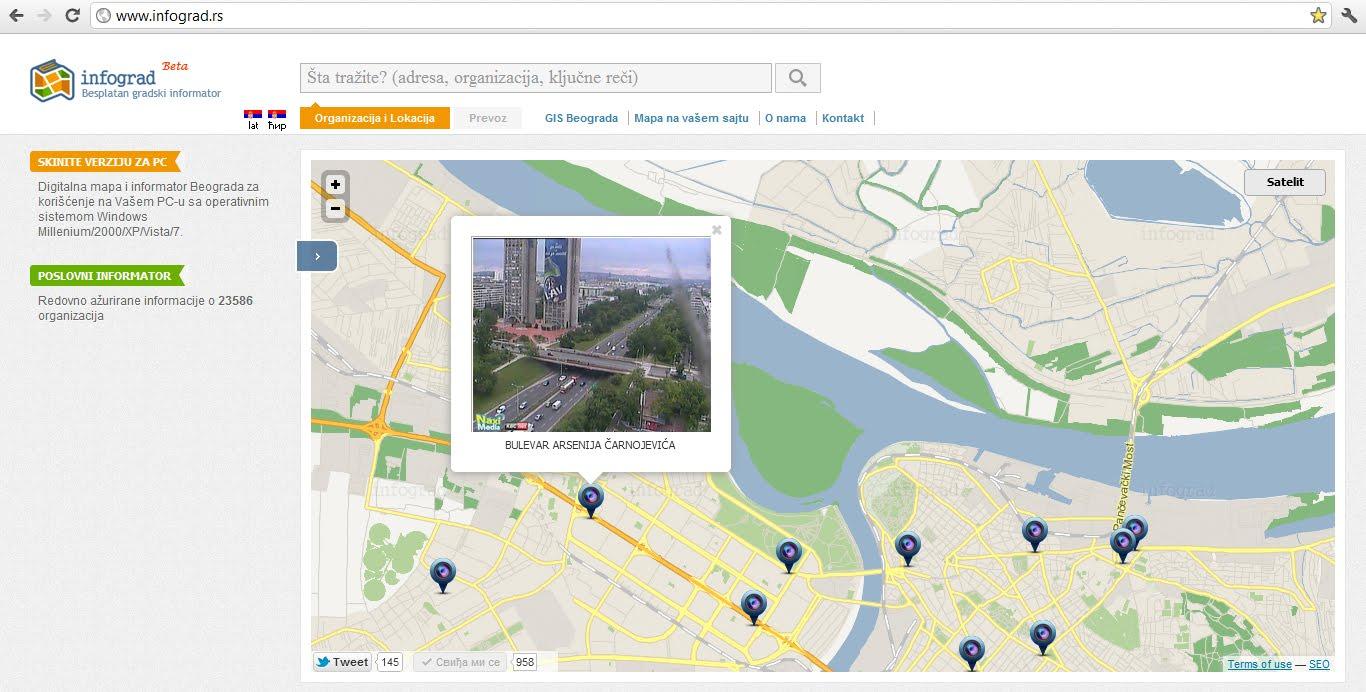 mapa novog sada 3d Mapa Beograd Selidbe, Otkup Automobila, Nekretnine WEB marketing  mapa novog sada 3d