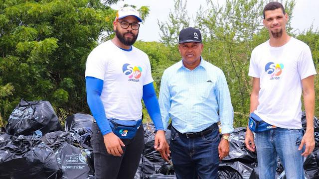 Edesur, primera empresa dominicana que se une al #BasuraChallenge