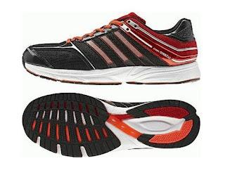 sepatu running adidas adizero hitam