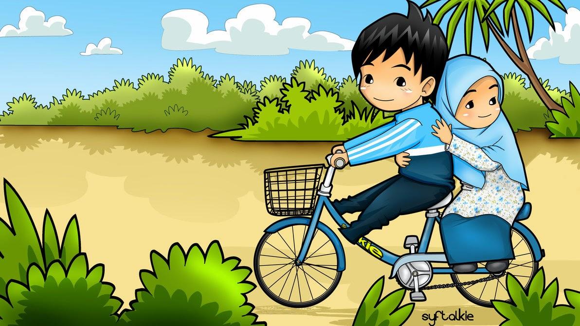 Unduh 520+ Gambar Animasi Lucu Pacaran Terbaru