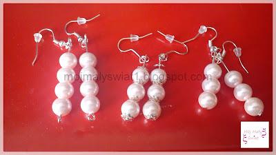 biżuteria różowa perłowa