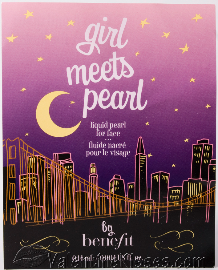 Benefit Cosmetics: Girl Meets Pearl Review