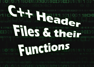 C++ Standard Header Files and Their Functions