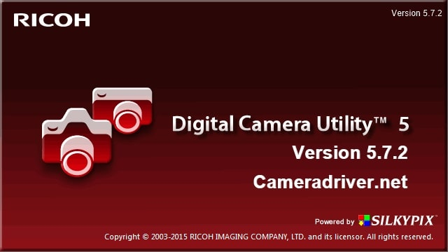 Pentax Digital Camera Utility Version 5.7.2