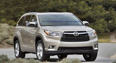 2017 TOYOTA HIGHLANDER REVIEW AND CHANGES