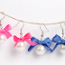 How To Make Pearl & Bow Earrings