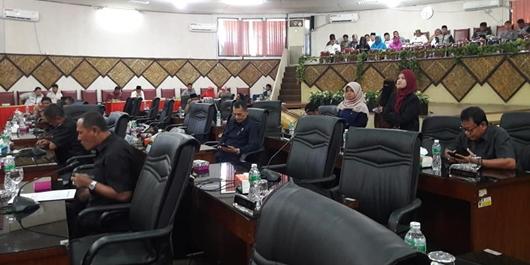 DPRD Kota Padang Ajukan Empat Ranperda Inisiatif