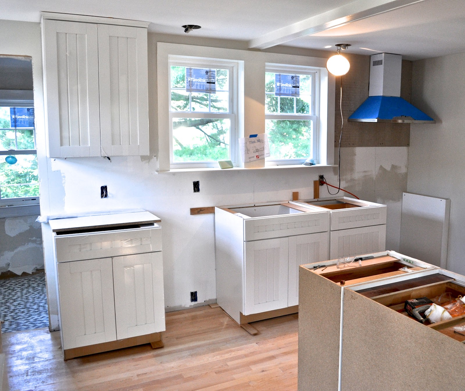 Peninsula Kitchen Layout Templates: SoPo Cottage: It's Starting To Look Like A Kitchen
