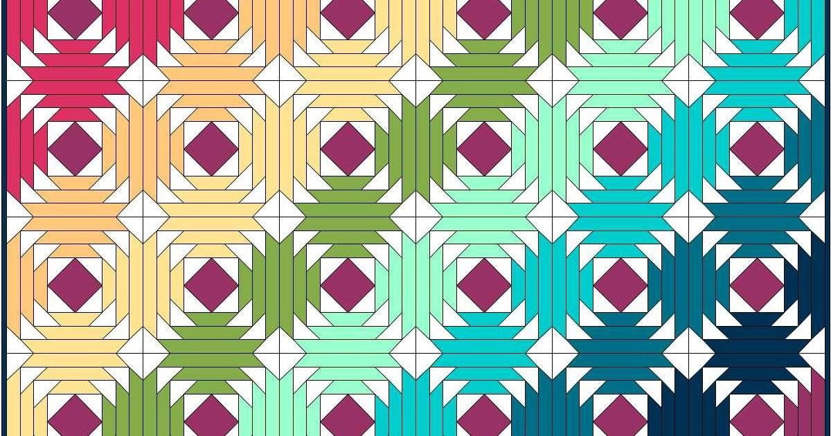 Hyacinth Quilt Designs Pineapple Quilt Block Tutorial