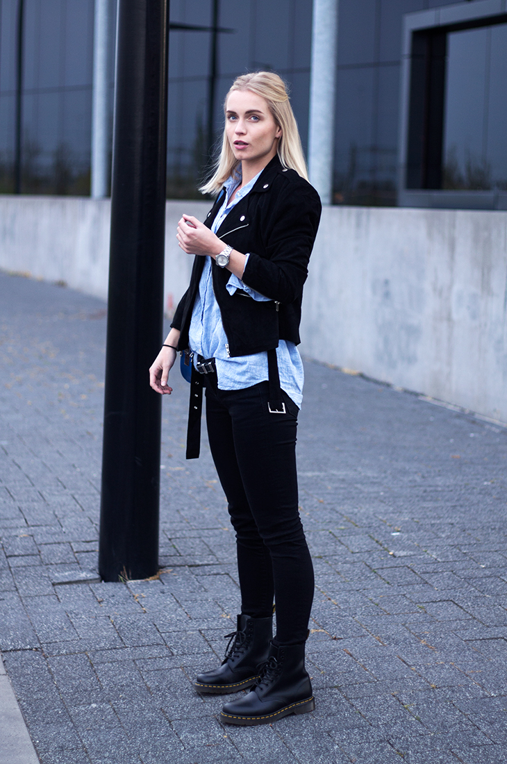 29ab300e0 Fashion Attacks outfit ootd Dr Martens Triwa Back To Fall