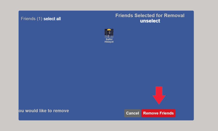 Cara Terbaru Menghapus Teman Facebook Yang Sudah Tidak Aktif Secara Masal