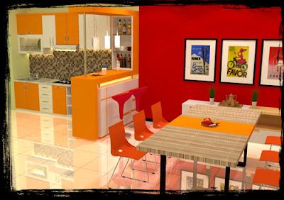 Jasa Pembuatan Kitchen Set Murah Minimalis di Kediri, kitchen set