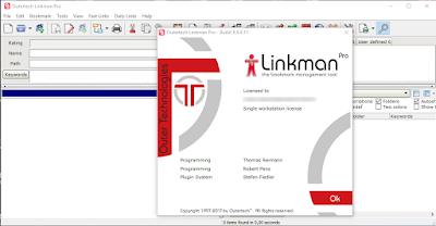 Screenshot Linkman Pro 8.9.9.11 Full Version