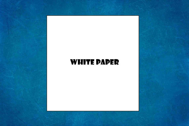 white paper for airplane