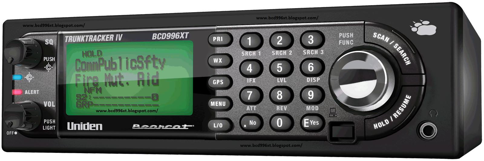 UNIDEN BCD996XT: Uniden BCD996XT Firmware Revision Notes 1 07 03