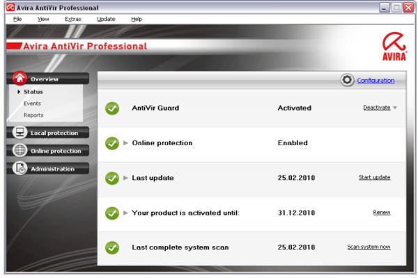 Avira Antivirus Pro 2017 Full Version