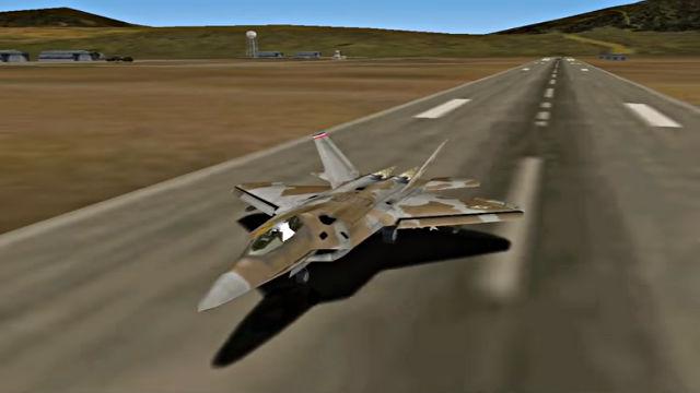 F-22 Lightning 3 (Demo) - Image du Jeu