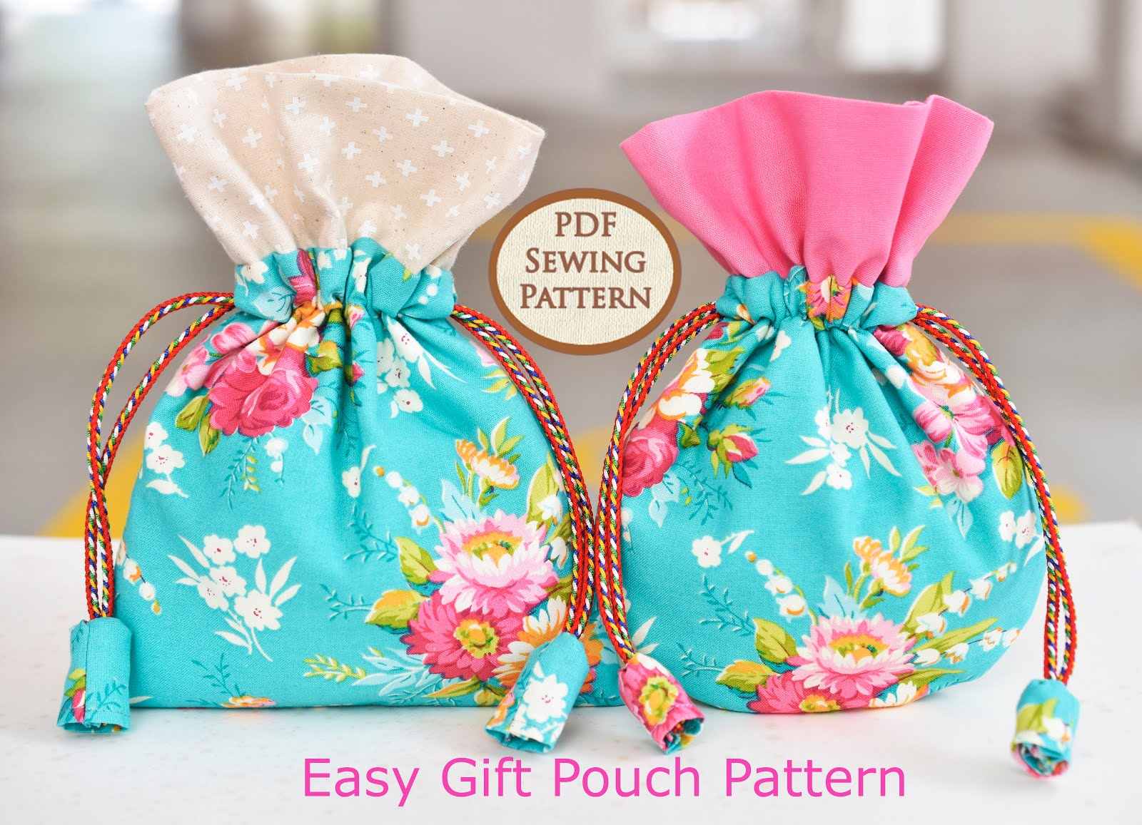 Why not make your own gift pouch?