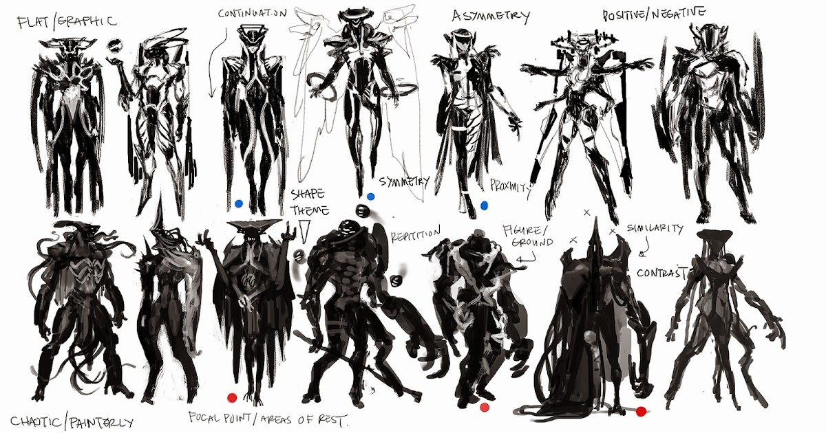 Character Design Basic Shapes : Cireisdead character design at otis demos and lecture stuff