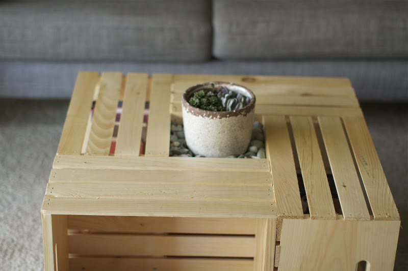 Team Gilster: DIY - Wood crate coffee table