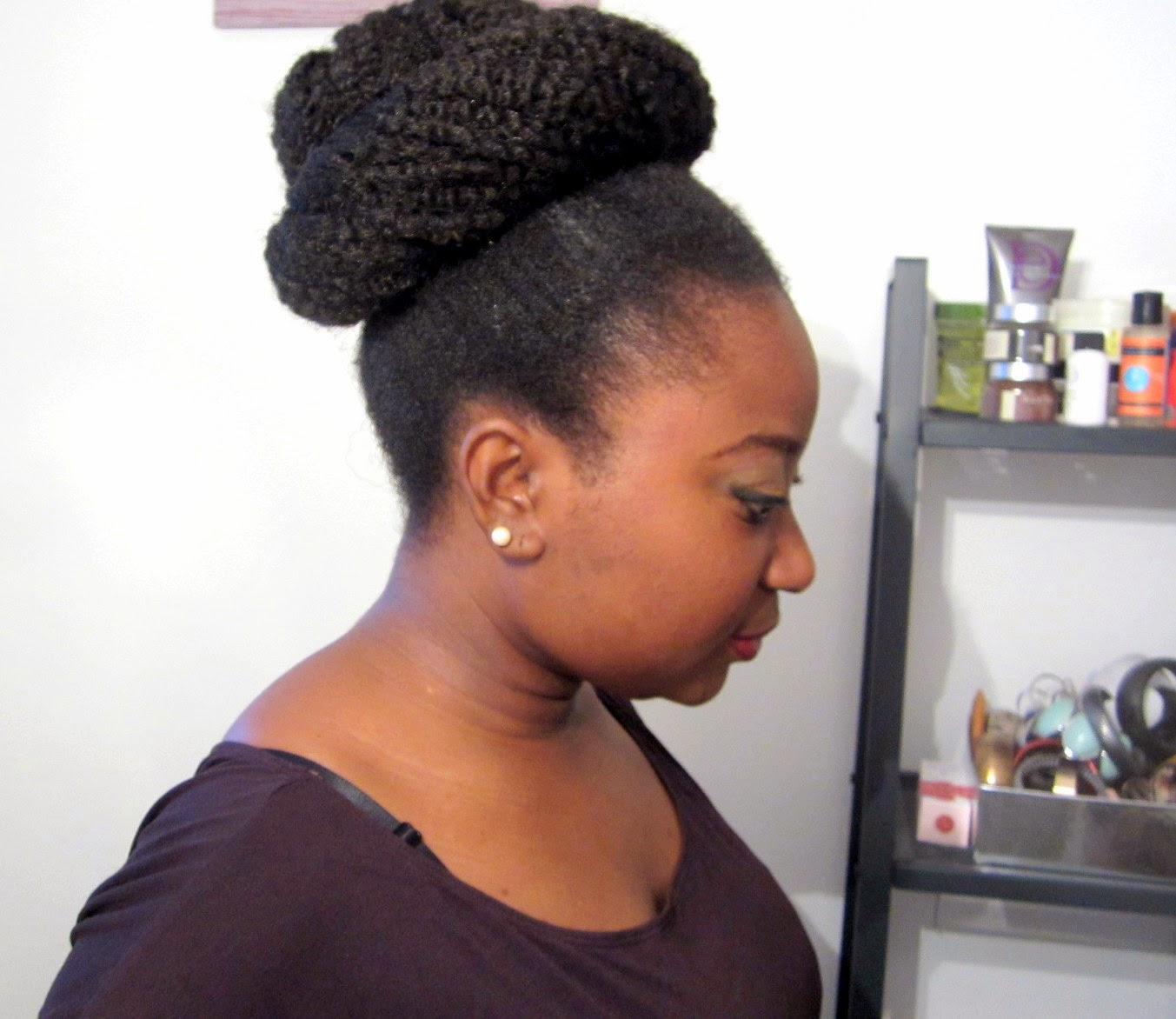 Coiffure Afro Bandeau Coiffure Big Bun Afro Kinky Afro Mango And Cie
