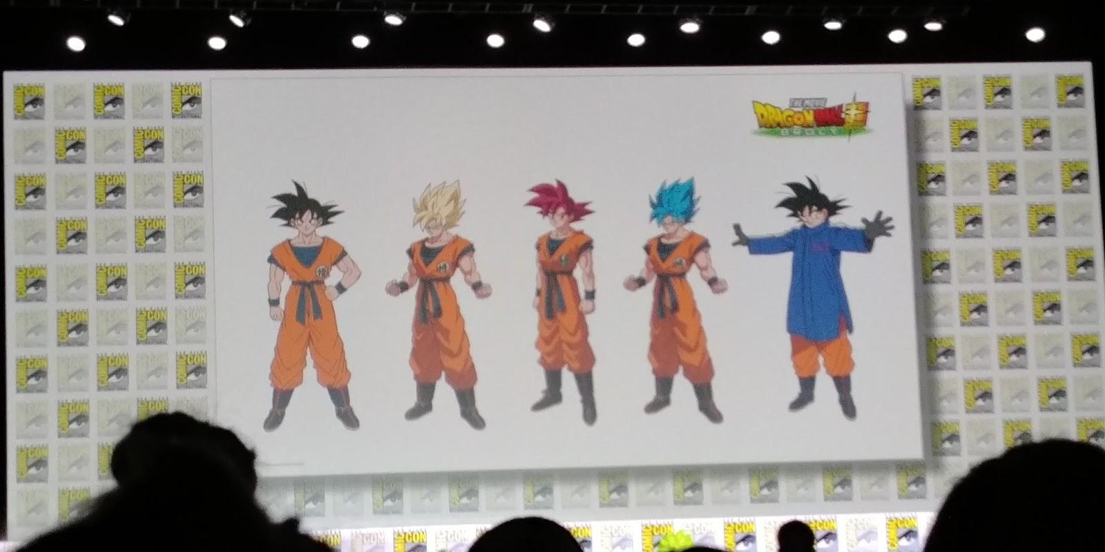 Diseño personaje Gokuv 2019 - Dragon Ball Super OVA