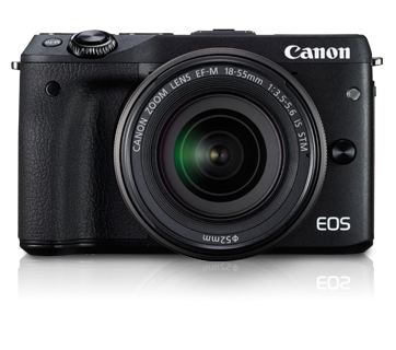 EOS M3 Kit (EF-M18-55 IS STM)