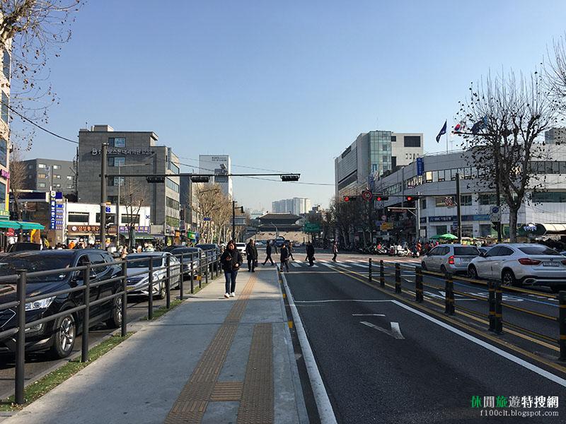 韓國首爾冷吱吱四日遊第1天:東大門市場、興仁之門城牆、梨花洞壁畫村