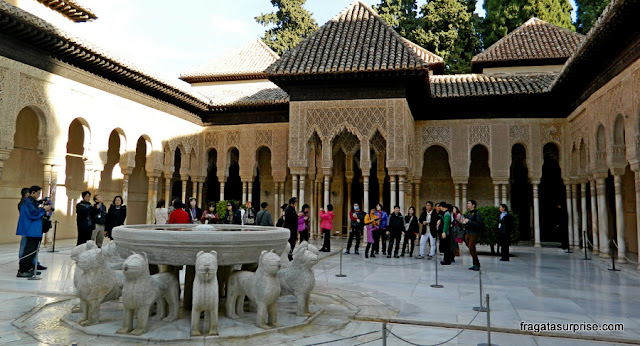 Pátio de los Leones, Alhambra