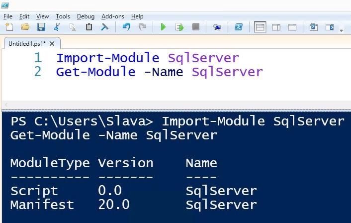 powershell sql server module manual install