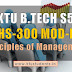 Note for Principles of Management HS300 Module-1