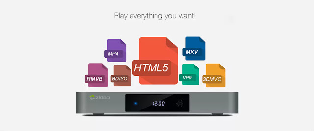 Zidoo X9S TV Box