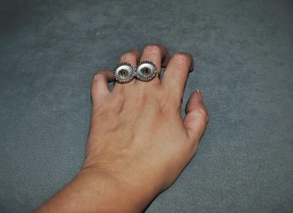DIY anillo doble