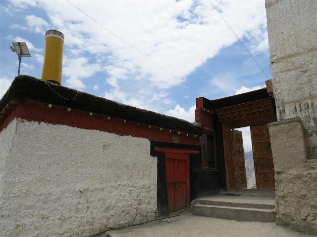 Dhankar Monastery Entrance