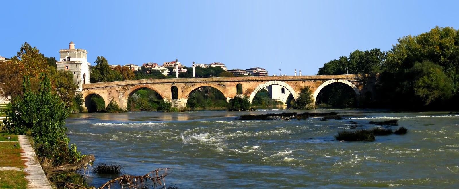 Puente Mulvio (Milvio) -Via Flaminia