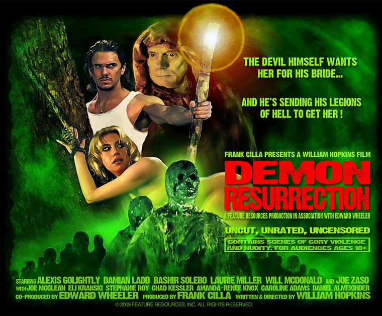 Demon Resurrection (2008) poster