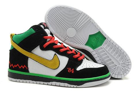 8c0223f5f94c Nike Dunks Custom Design Sneakers   Nike Dunk Black History Month ...