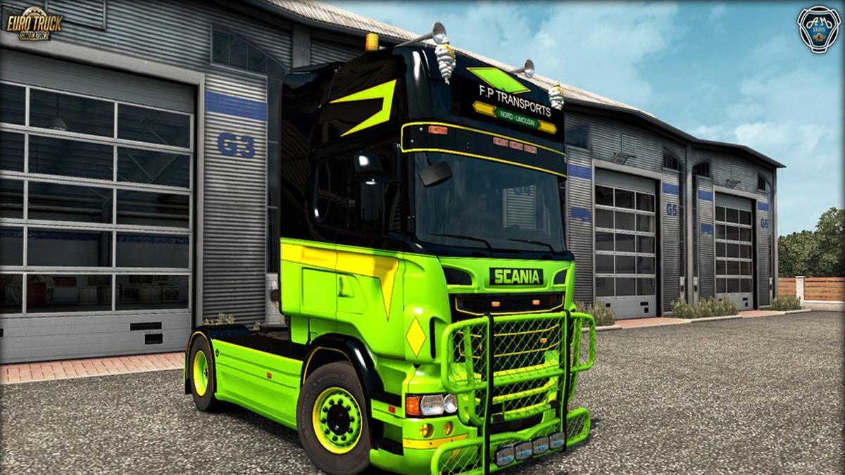 Scania RJL FP Transports Kit