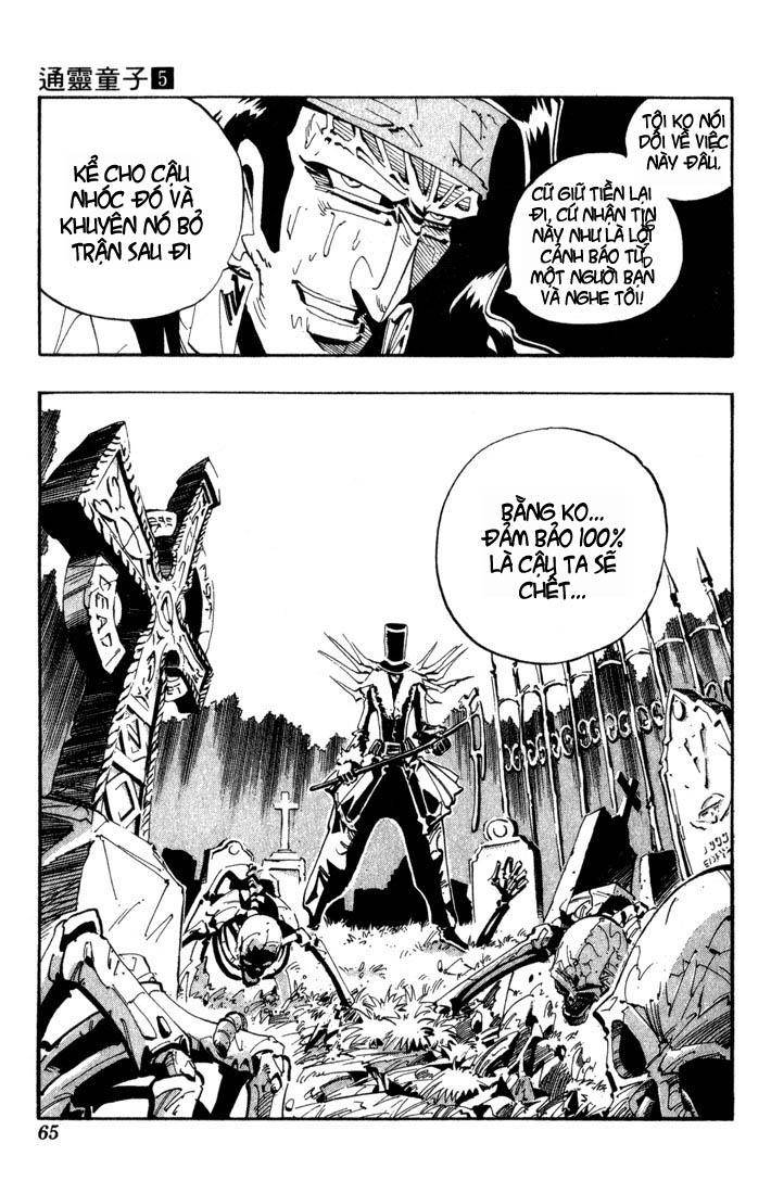 Shaman King [Vua pháp thuật] chap 38 trang 20