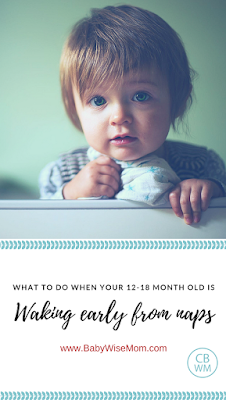 What to do when your pretoddler is waking early from nap