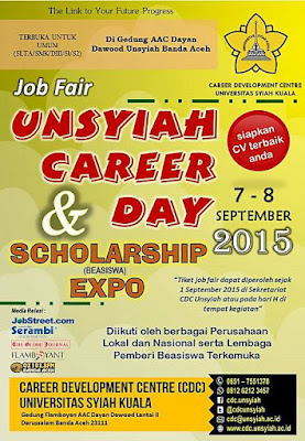 Unsyiah Career Day and Scholarship Expo 2015