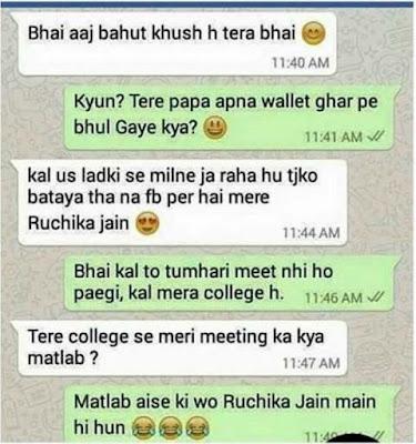 whatsapp funny chats pics