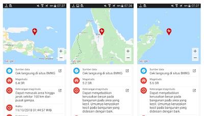 aplikasi pendeteksi bencana alam