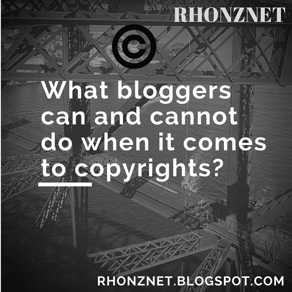 What Bloggers Should Know About Copyrights
