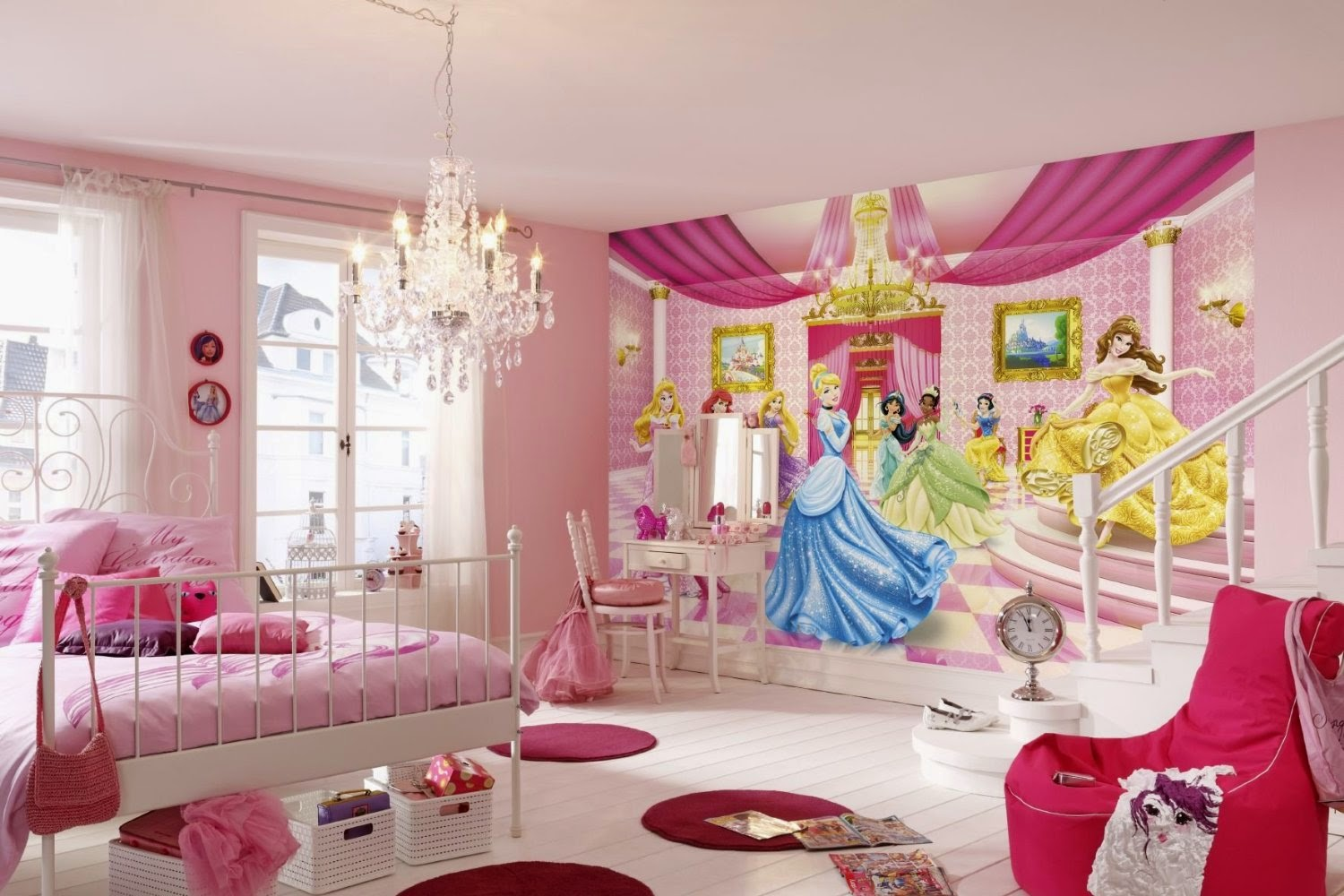 Dormitorio Barbie Habitación Estilo Princesa Ideas Para Decorar Dormitorios