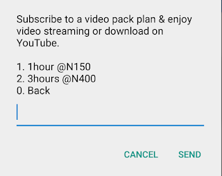 MTN Hourly YouTube Streaming Activation Codes