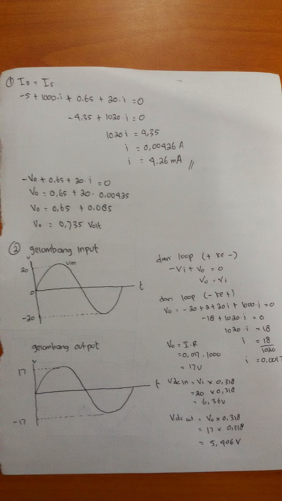 Soal Uts Elektronika Analog Semester 1 Dokumen 471