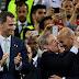 Após derrota no El Clásico, Florentino Pérez desceu ao vestiário para apoiar Zidane e jogadores
