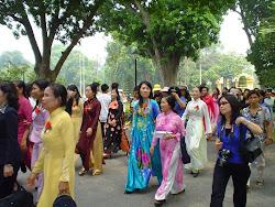 Aodai - Áo Dài - traje vietnamita - traje típico de vietnam