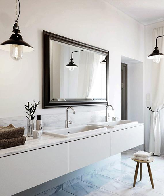 New Bathroom Designs: DECOR TREND: Wooden Bathroom Stool
